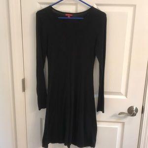 Merona Black Long Sleeve Dress